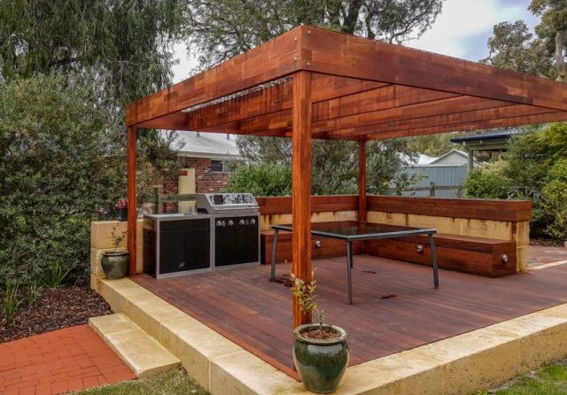 Geographe Landscaping, Decking Gallery