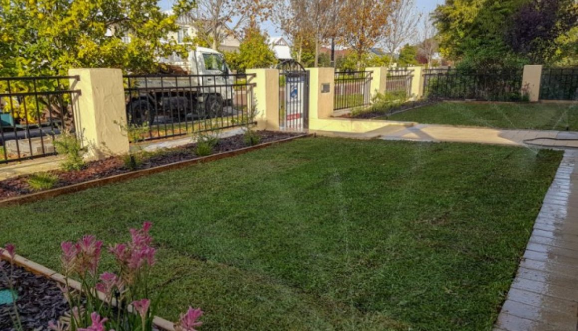 Geographe Landscaping, Turf and Reticulation systems